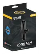 "Ram Mount Double Socket Arm Long 1"" Ball RAMMC201C"